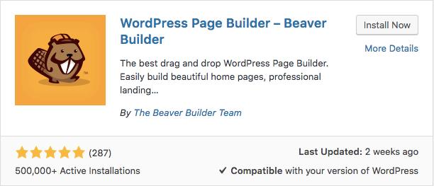 beaver builder plugin wordpress