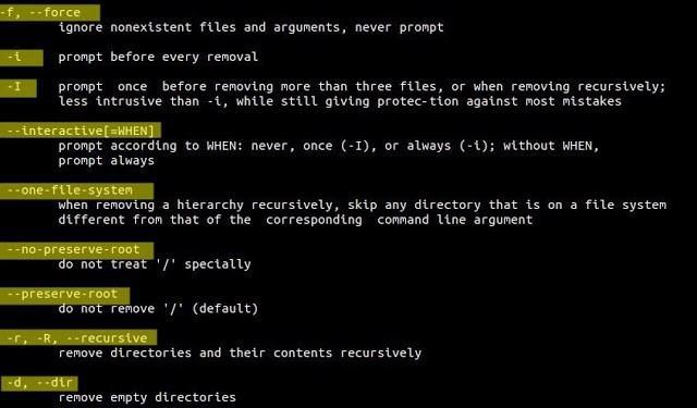 Tổng hợp các lệnh xóa thư mục trong linux mới nhất 2020