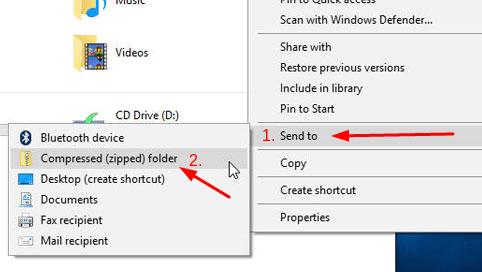 Zipping Files