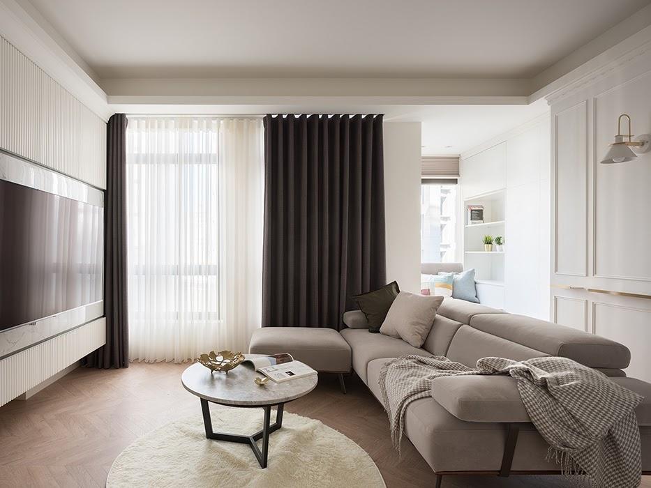 Thiết kế phòng khách đẹp 20m2 cho căn hộ chung cư