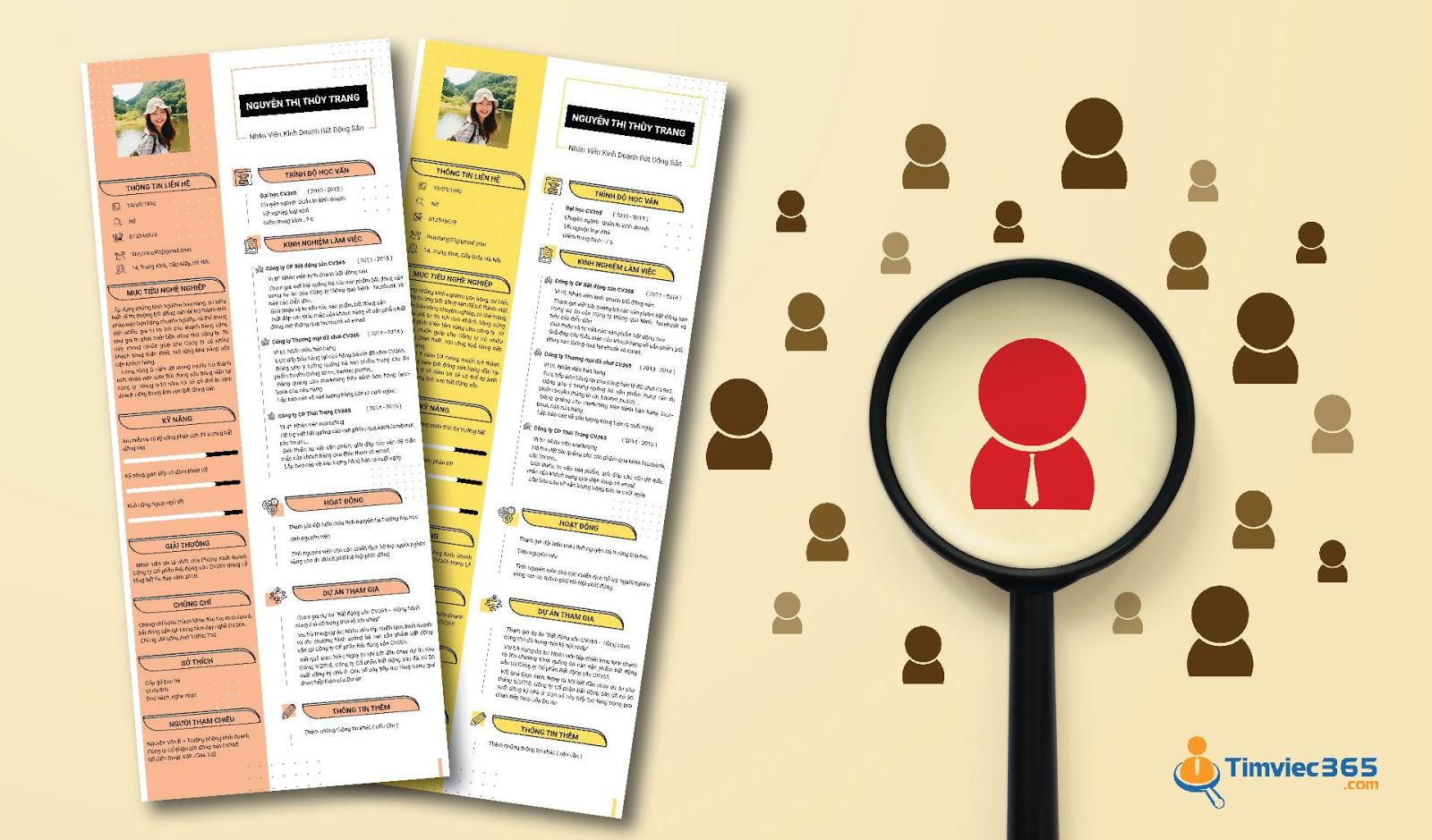 Tìm việc làm marketing với timviec365.com